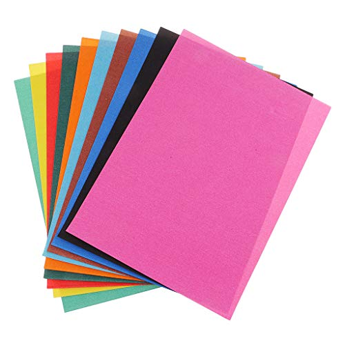 Fenteer 10 Sheets Mixed A4 Painting Drawing Art Sand Paper for Kids Toddler Graffiti ()