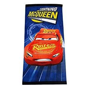 Disney Pixar Cars Lightning McQueen Clubhouse Fiber Reactive Beach Towel - Turbo (Disney Pixar Cars Rug)