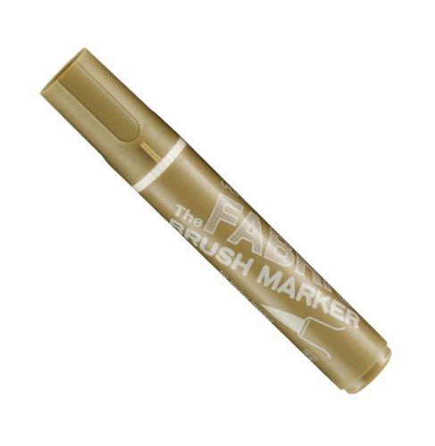 - Uchida 722-C-27 Marvy Fabric Brush Point Marker, Olive Brown