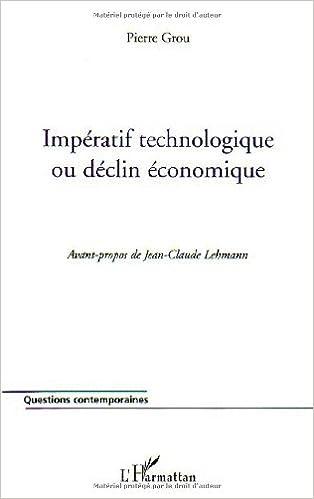 Téléchargement Impératif technologique ou declin économique pdf, epub