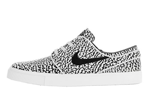 Shoes Elite Pure Black Skateboarding Zoom Platinum Stefan NIKE Mens white Janoski qztYwWA