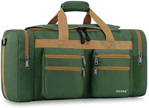 Gonex 45L Travel Duffel Bag Gym Bag Sports Duffle Bag Weekender Bag Luggage Duffel