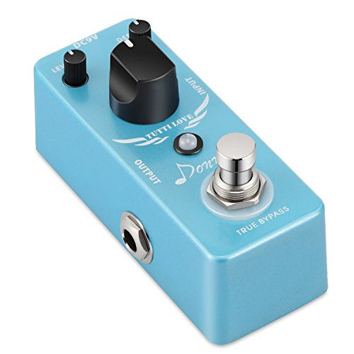 Donner Tutti Love Chorus Guitar Effect Pedal Pure Analog True