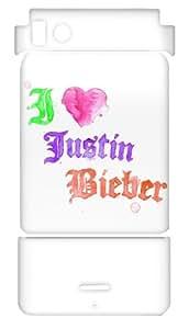 MusicSkins, MS-JB230151, Justin Bieber - Watercolor, Motorola Droid X/X2, Skin