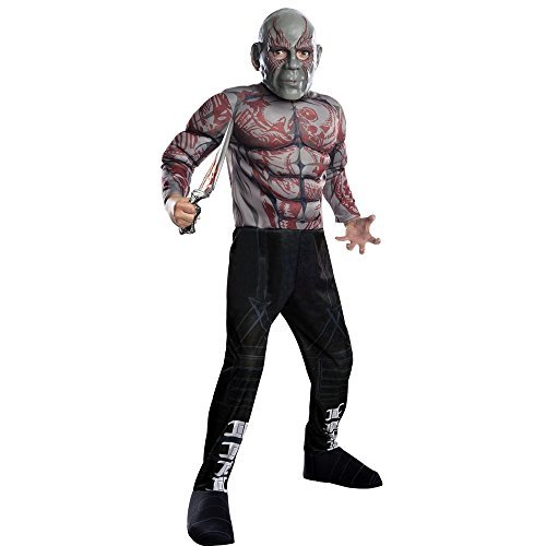 Guardians of the Galaxy Drax the Destroyer Child Costume (Large (10-12))