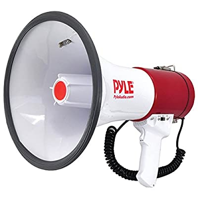 PYLE PRO PMP52BT Bluetooth(R) Megaphone Bullhorn with Siren PET2