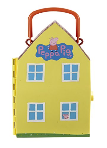 Galleon Peppa Pig Playhouse With Mat And 4 Figures