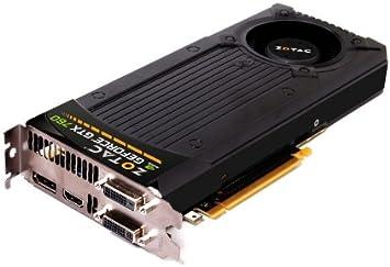Amazon.com: Zotac NVIDIA GeForce GTX 760 4 GB GDDR5 2DVI ...