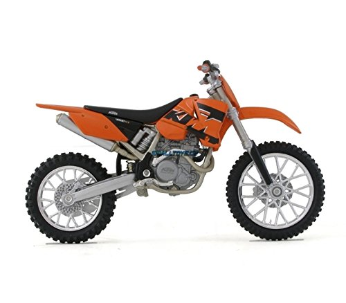 Welly Die Cast Motorcycle Orange KTM 450 SX Racing, 1:18 Scale