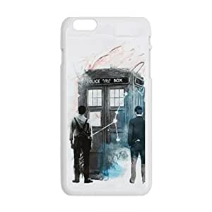 Happy Doctor Who Box Fashion Comstom Plastic case cover For Iphone 6 Plus