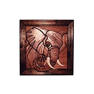 Amazon.com: Elephant - intarsia Wood Carving: Carving Sets: Kitchen