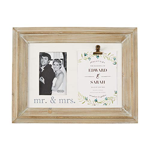 Mud Pie Mrs. Wedding Invitation Photo 4