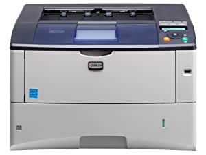 Kyocera FS-6970DN - Impresora - monocromo - a dos caras - laser - A3/Ledger - 1.200 ppp - hasta 35 ppm - capacidad: 350 hojas - paralelo, USB, LAN, host USB