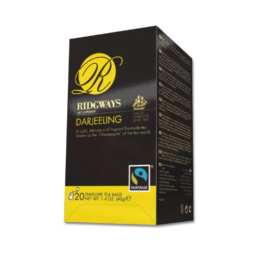 Ridgways Darjeeling Tea (20 Individually Wrapped Tea Bags)