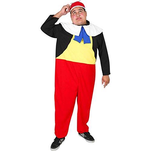 Adult's Tweedle Dee Halloween Costume (Size: Standard 44) (Tweedle Dee Fancy Dress)