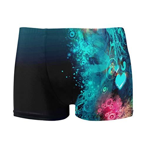 Men's Quick-Dry Swimsuit,Valentine's Day Love Designer Swim Trunks Men Boys Swimming Pants Light,Utra-Thin & Breathable M