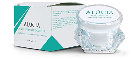 Alucia Anti Wrinkle - The ONLY Anti Aging Cream to Reduce Wrinkles, Fine Lines, and Dark Circles without Botox, Giving You Younger, More Beautiful Skin