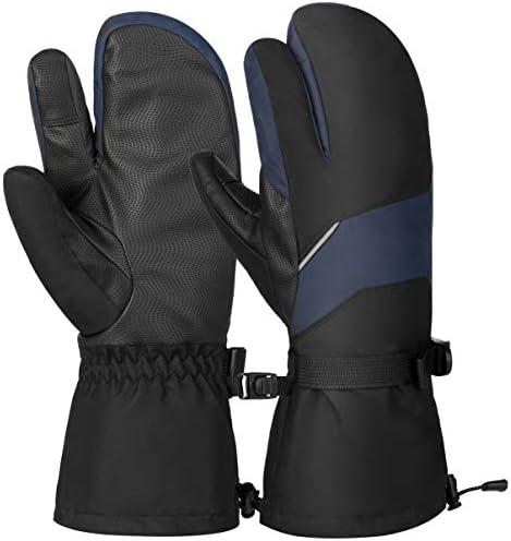 [해외]VBIGER 스키 장갑 고성능 단 열 소재 방한 방 풍 장갑 아웃 도어 등산 바이크 용 장갑 일체형 리 기 모 내 마모성 유 니 섹스 / VBIGER Ski Gloves High-Performance Insulation Material WindProof Gloves Outdoor Climbing Bike Gloves With Non-S...