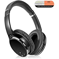 Active Noise Cancelling Headphones Bluetooth Headphones...