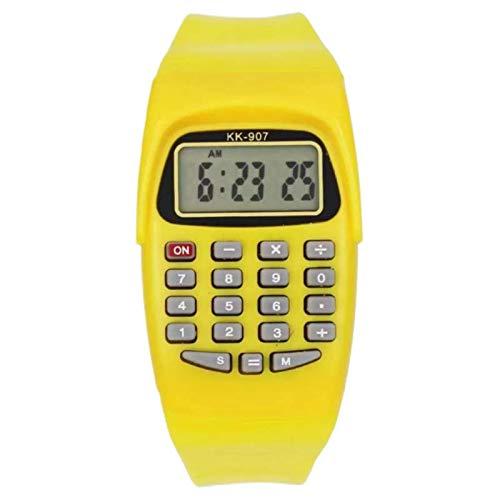 Lionbolt Blue Smart Calculator Digital Watch for Boys  amp; Girls.