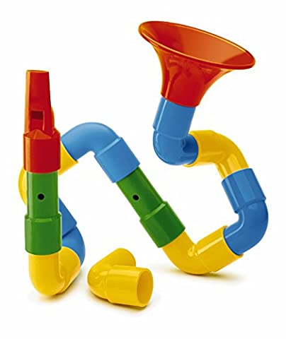 Quercetti Saxoflute – 16 Piece Build Your Own Instrument (Strumenti musicali)