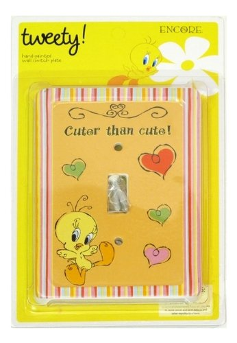 looney-tunes-tweety-cheeky-switch-plate-cover
