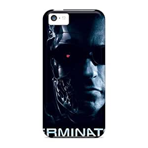 Durable Defender Case For Iphone 5c Tpu Cover(terminator)