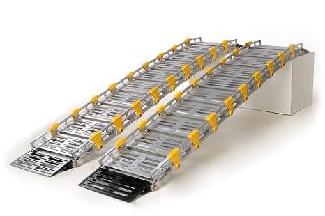 Amazon.com: roll-a-ramp de ancho doble pista rampa, 7 de ...
