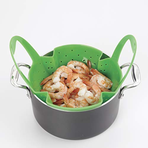 OXO Good Grips Silicone Steamer, Green by OXO (Image #8)