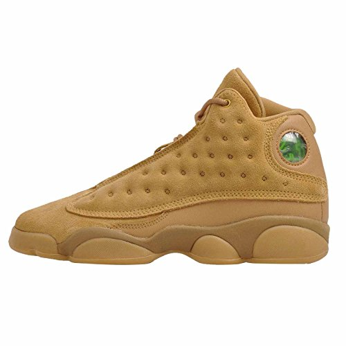 Nike Air Jordan 13 XIII GS BG Boys Kids Youth Wheat Brown 414574-705 US Size 5.5Y (13 For Jordan Women Retro)