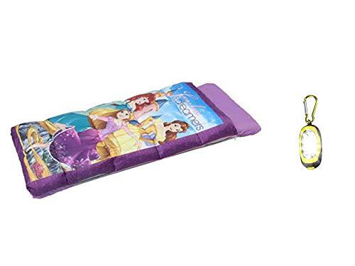 (DP Princess Inflatabed EZ Bed Inflatable Mattress with Sleeping Bag & Bonus Flashlight)