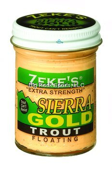 (Atlas Mike's 921 Zeke's Sierra Gold Floating Trout Bait, Salmon Peach)