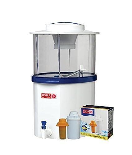 45eba5cf0 Usha Shriram Gravity Based Water Purifier 20-Litre -White And Blue ...