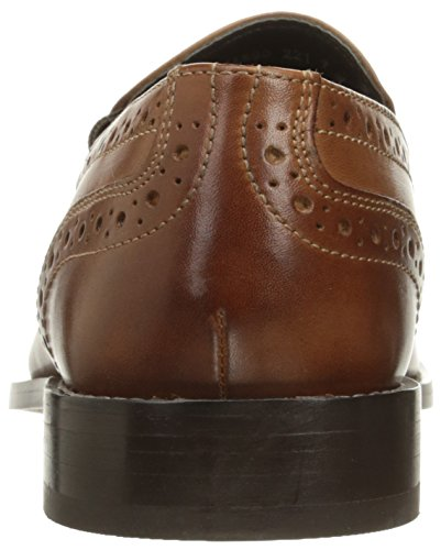 Nunn Bush Mens Norris Slip-on Loafer Cognac