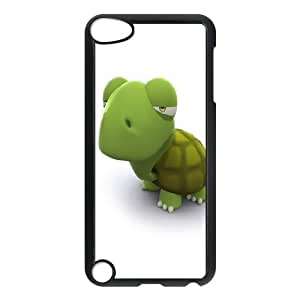 Ipod Touch 5 Cases 3d Green Turtle, Case for Ipod Touch 5 for Boys - [Black] Bloomingbluerose