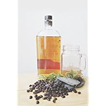 Vanilla Bourbon Spirit Whole Roasted Coffee Beans - Bewdly Coffee Company - Organically Sourced, Gluten Free, Vegan Aribica Coffee Beans - Gourmet, Highest Quality Medium Roast Aribica Coffee Beans