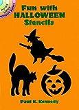 Amazon Com Halloween Card Stencil Size 5 Quot W X 5 Quot H