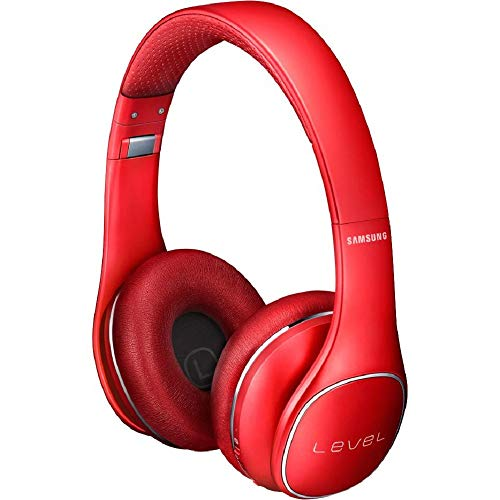 Samsung Level On Wireless Noise Canceling Headphones Red