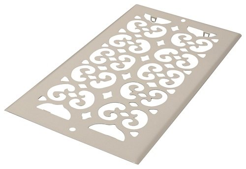 Decor Grates S610R-WH 6-Inch by 10-Inch Painted Return Air, White by Decor Grates