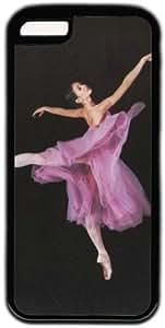LJF phone case Ballet Dance Theme Iphone 5C Case