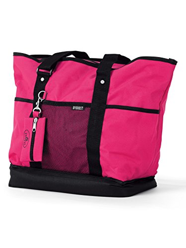 Dance Bag and Coin Purse,1002DLXHPK,Black/Hot Pink,One-Size by EVEREST