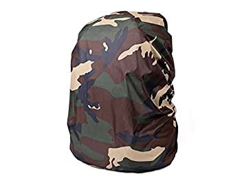 FHNFHNF Camping Rucksack Waterproof Cover Camo Backpack Anti-Rain Anti-Dust  Cover for 13ac71d0f9