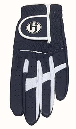 HJ Ladies Fashion Golf Glove Navy Medium Left Hand