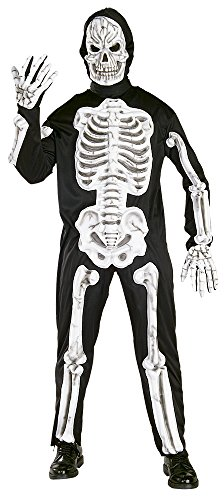 [EVA Skeleton Adult Halloween Costume Size Standard] (Spirt Halloween)