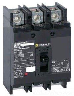 QDP32200TM SQUARE D 200 AMP, 240V 25K IR 3 POLE CIRCUIT BREAKER 200A 3P QD200 TM by SQUARE D