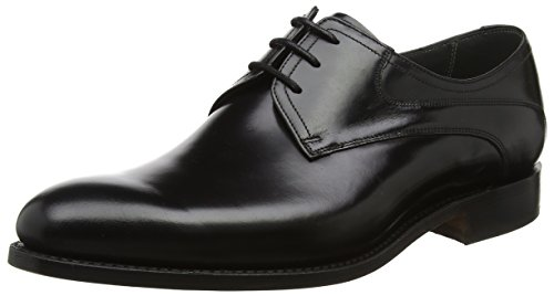 Wickham Scarpe Uomo Black Nero BARKER 17 Derby Stringate Polish RfdPqR1wn