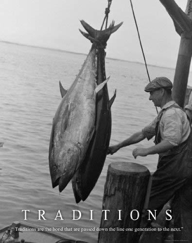 Salt Water Tuna Fishing Motivational Poster Art Print 11×14 Reels Poles Rods Wall Decor Pictures