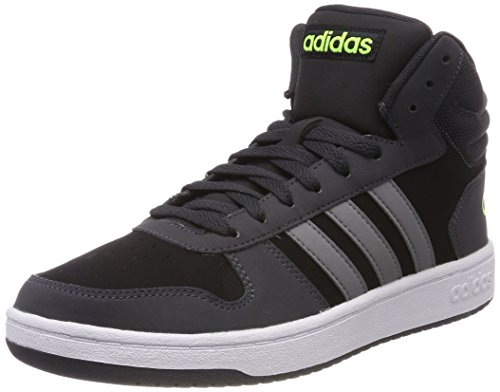 Three grey Homme Noir Baskets Hoops carbon core Adidas 0 Mid Vs 0 Hautes 2 Black xBCRPw7qF