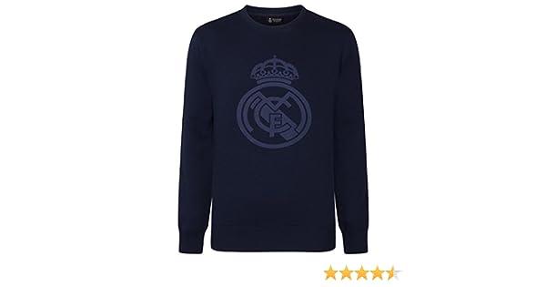 Real Madrid - Sudadera Oficial para niño - con el Escudo del Club: Amazon.es: Ropa y accesorios