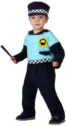 Atosa-16116 Atosa-16116-Disfraz Policia-Bebé 6 a 12 Meses- NIño ...